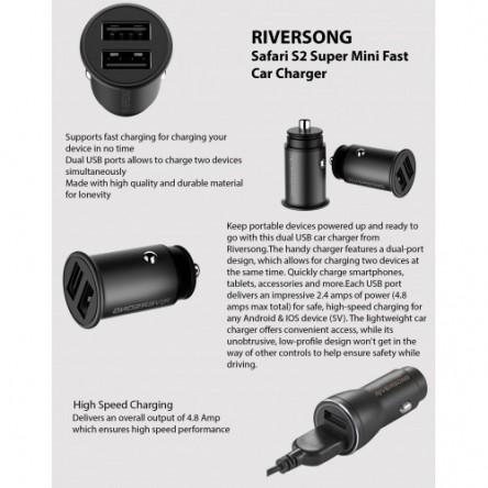 Riversong  Safari S2 Metal Car Charger