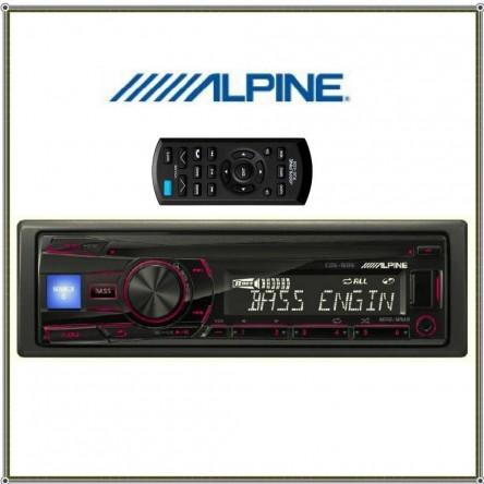 Alpine CDE-150E CD Car Receiver