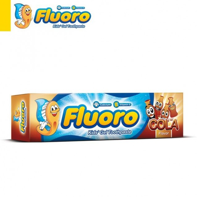 Eva Floro toothpaste with cola flavor 50 gm
