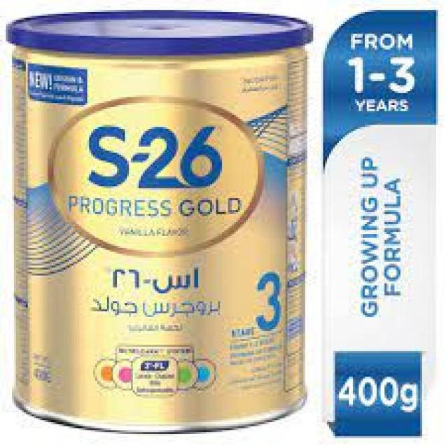 Milk S26 Progress Gold 400g