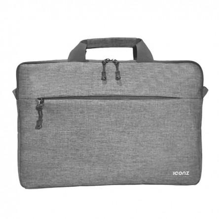 Iconz London Toploading Bag 16 Light Grey